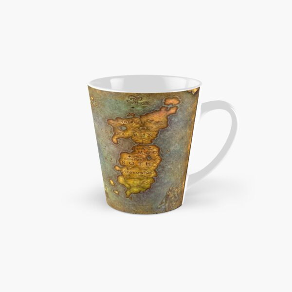WoW Classic Map Poster Tapestry Tall Mug