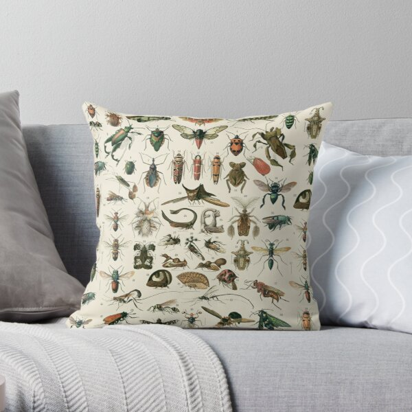 Insects 2 Throw Pillow