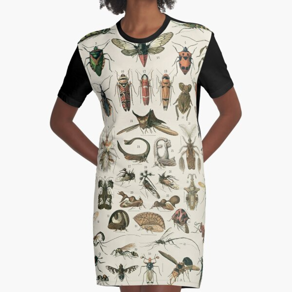 Insects 2 Graphic T-Shirt Dress