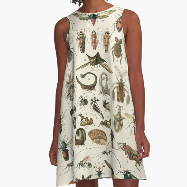 Insects 2 A-Line Dress