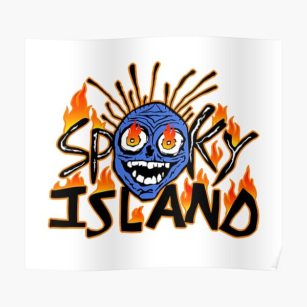 scary isle Poster