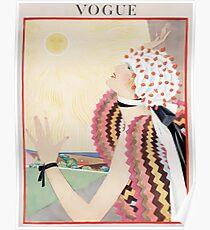 Vogue July 1922 Poster