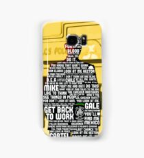 Gus Fring Quotes Samsung Galaxy Case/Skin