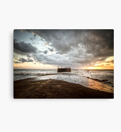 Our Winter Sea Canvas Print