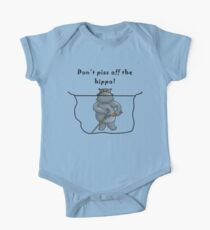 Don't Piss Off The Hippo One Piece - Short Sleeve