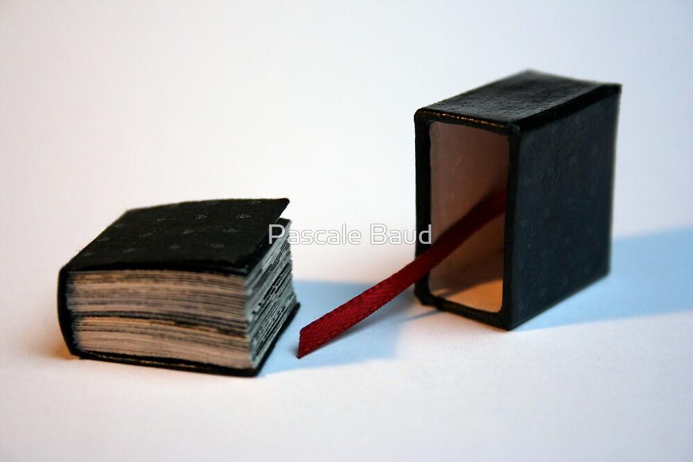 Lettres aux Cubes : W - miniature book n°1 - open by Pascale Baud