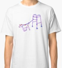 Dog walker Classic T-Shirt