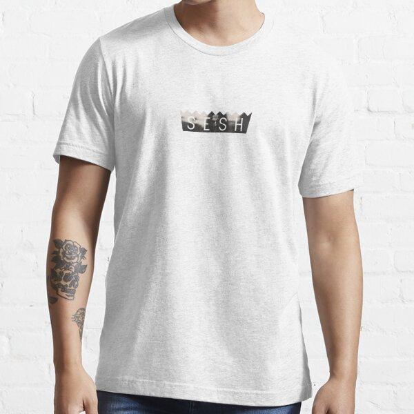 TEAM SESH - BONES - BLACK & WHITE Essential T-Shirt