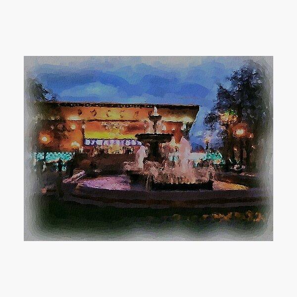 Pushkinskaya Movie Theater Photographic Print