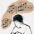 Die Lautensängerin by Ina Mar