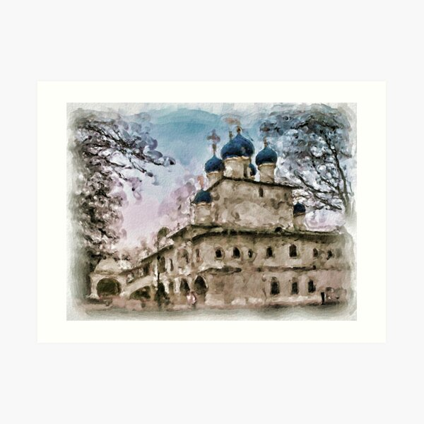 Church of the Icon of Our Lady of Kazan Art Print