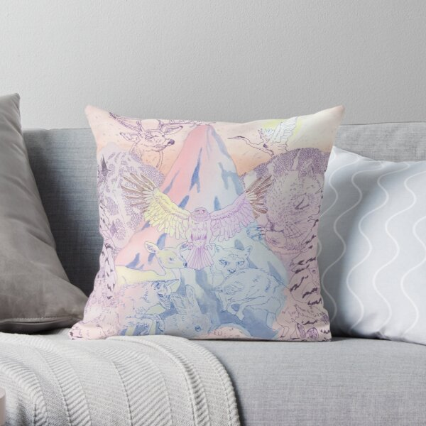 Whistler Animals Throw Pillow