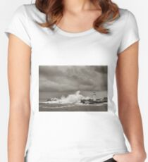 Braving Belmore Women's Fitted Scoop T-Shirt