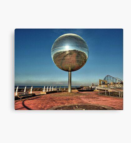 Giant Glitter Ball . Canvas Print