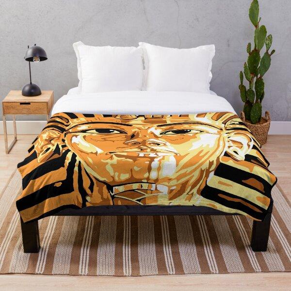 King Tut Throw Blanket
