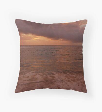 Morning Takes Hold... Kauai Sensual Series Throw Pillow