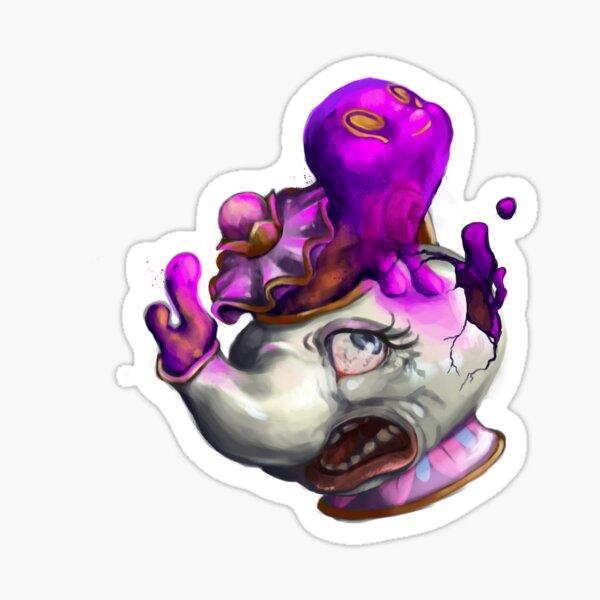 Mrs. Polteagiest - Horror Version Sticker