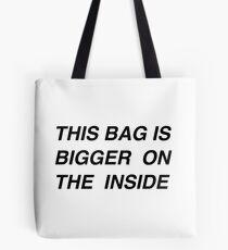 This bag is bigger Tote Bag
