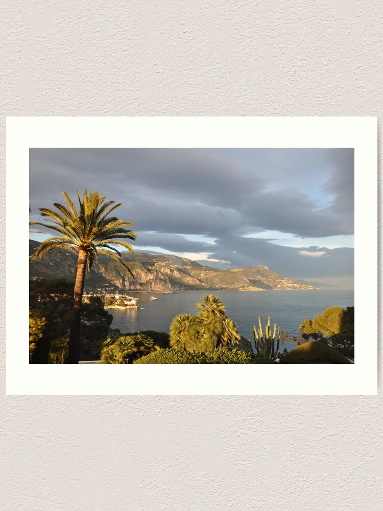 Alternate view of Villa Kerylos; view from House Effrussi Art Print