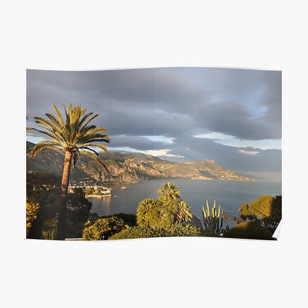Villa Kerylos; view from House Effrussi Poster