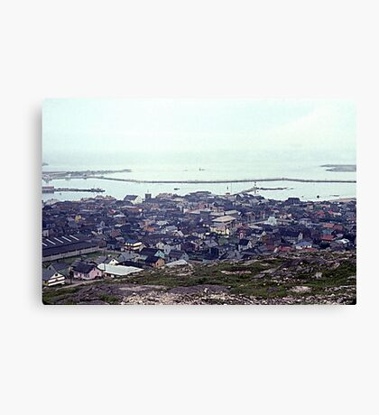 Foggy Day in St. Pierre Canvas Print