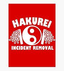 Hakurei Incident Removal Photographic Print
