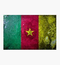 Cameroon Grunge Photographic Print