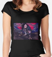 dragonborn comes Women's Fitted Scoop T-Shirt