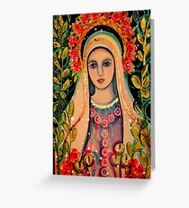 Mystical Rose Greeting Card