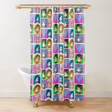Funneh and the Krew - Anime Style Shower Curtain