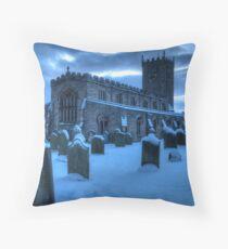 St Oswald's Church, Askrigg Throw Pillow