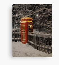 Welcome sight Canvas Print