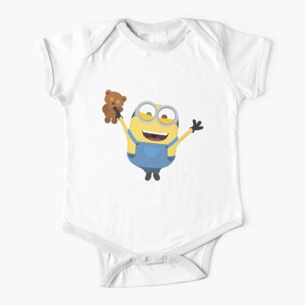 Bob minion Short Sleeve Baby One-Piece
