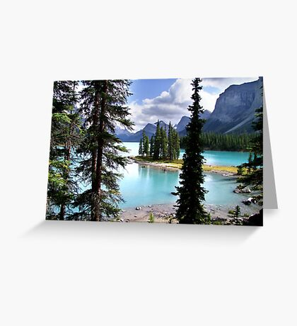 Incomparable Maligne Greeting Card
