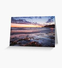 """""""Sunset At South Mole Beach"""" Greeting Card"""