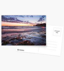 """Sunset At South Mole Beach"" Postcards"