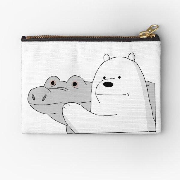 We Bare Bears Ice Bear Zipper Pouch