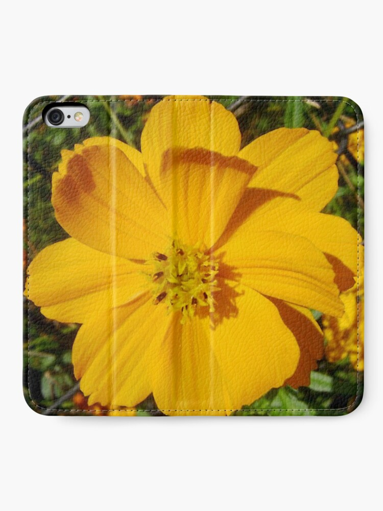 Alternate view of Unrestricted Flower iPhone Wallet