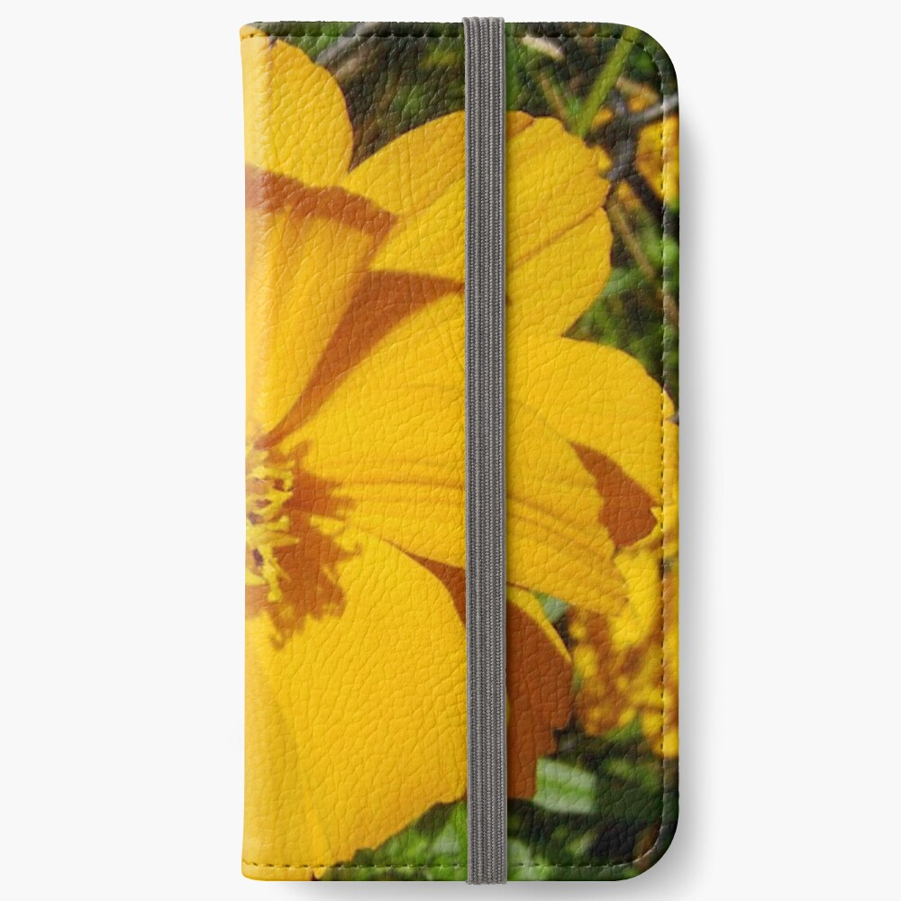 Unrestricted Flower iPhone Wallet