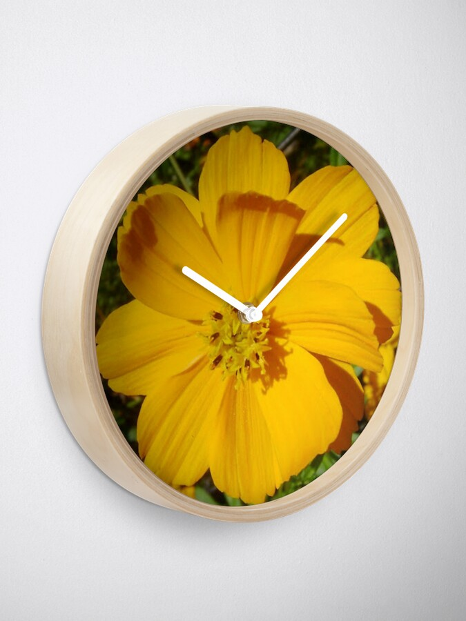 Alternate view of Unrestricted Flower Clock