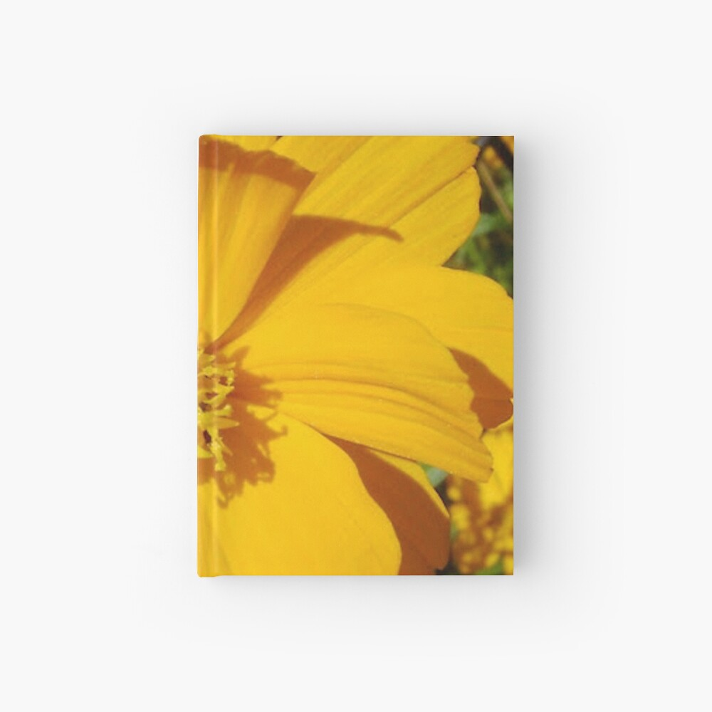 Unrestricted Flower Hardcover Journal