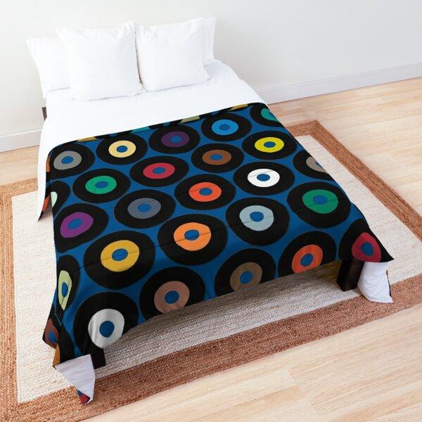 VINYL blue Comforter