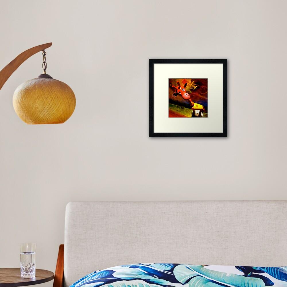 G. Raffe - Loves Art! Framed Art Print