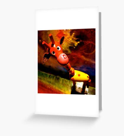 G. Raffe - Loves Art! Greeting Card