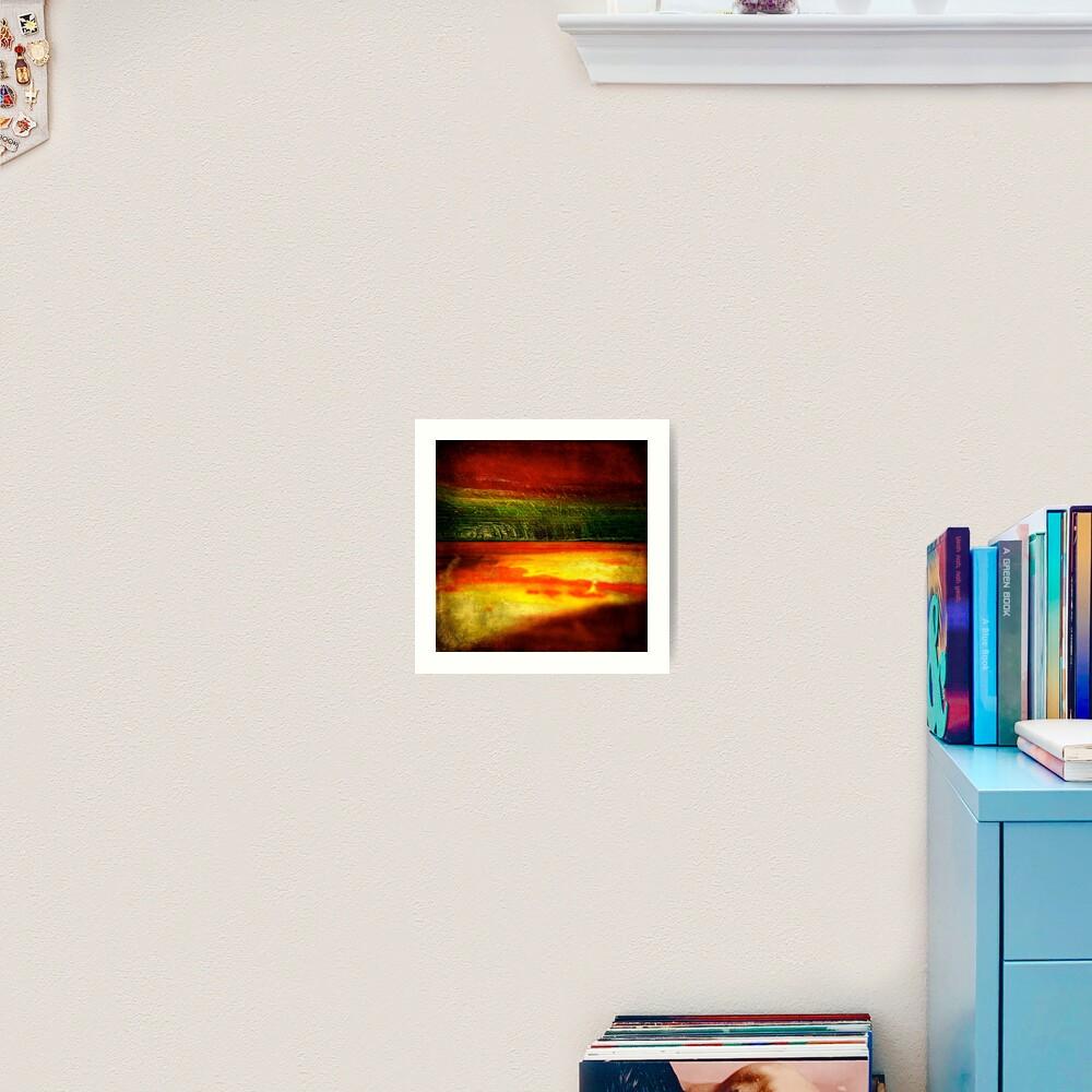 Horizontal Rainbow Art Print