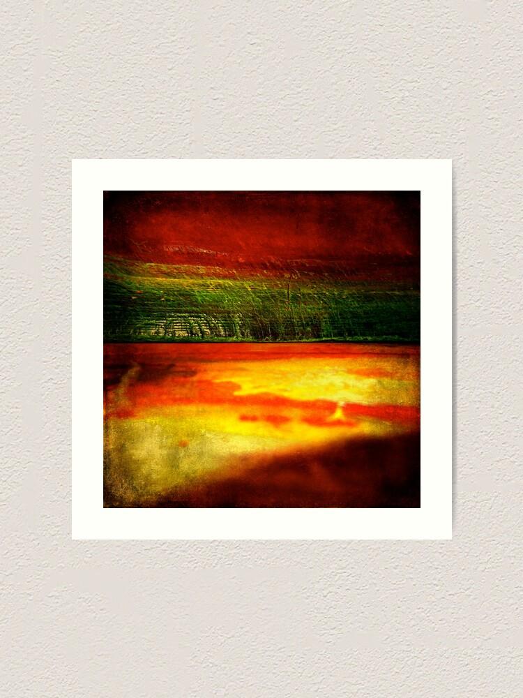 Alternate view of Horizontal Rainbow Art Print