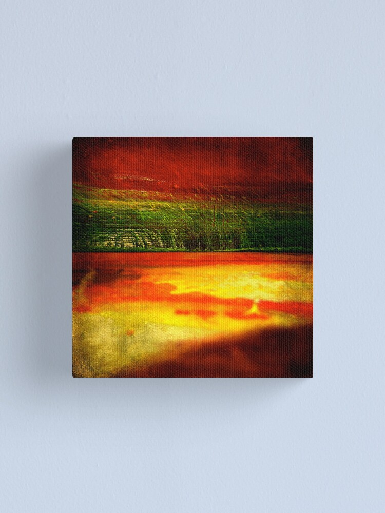 Alternate view of Horizontal Rainbow Canvas Print