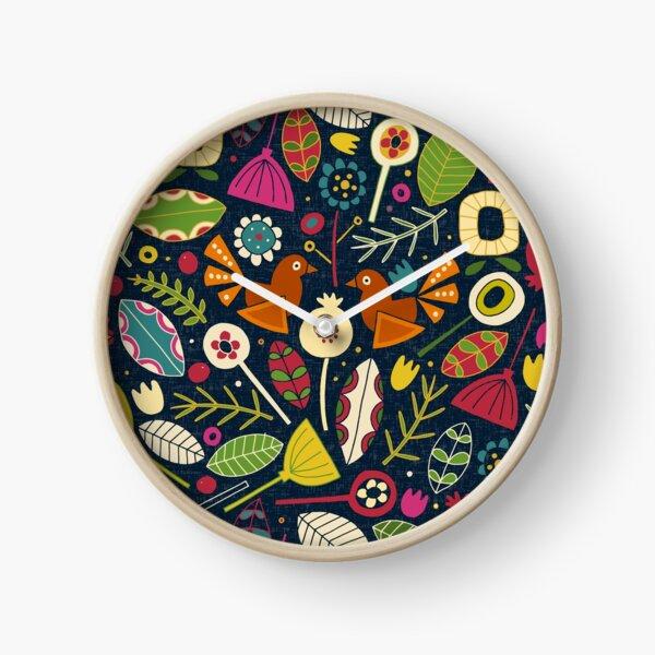 BLOM INDIGO Clock