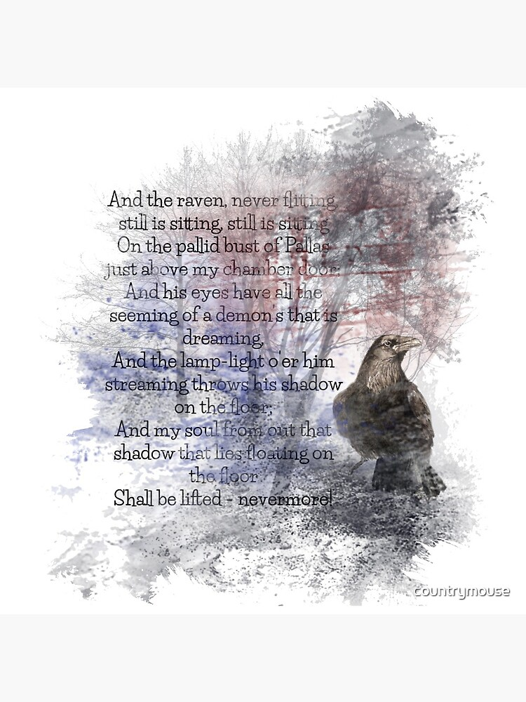 Edgar Allan Poe Poem The Raven by countrymouse