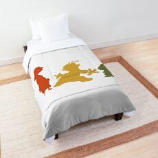 Ed, Edd n Eddy Silhouettes Comforter